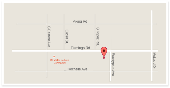 E Flamingo Location